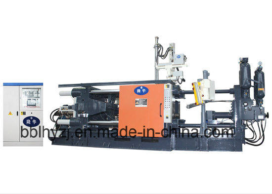 Lh- 850t Aluminum Alloy Parts Making Machine Aluminum Die Casting Cold Chamber Machine